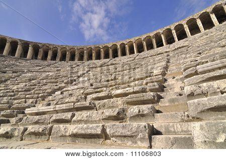 Inside Of Aspendos Theatre