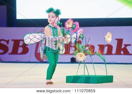 Minsk, Belarus December 05: Udovichechnok Margarita From ' Gomel' Participate With 'drag