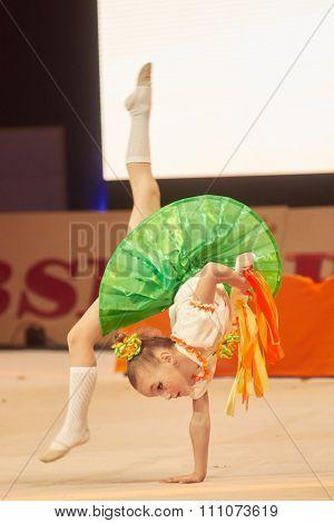 Minsk, Belarus December 05: Myat Milana From ' Baranovichi' Participate With 'orange Son