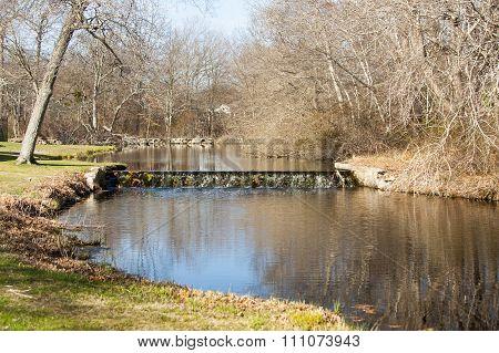 Spillway On Small Stream