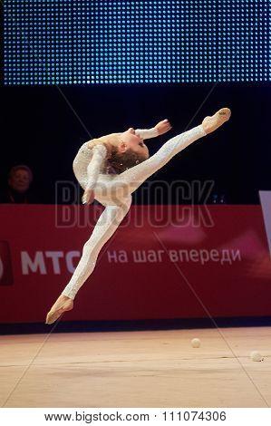 Minsk, Belarus December 05: Streltsova Darya From ' Gomel' Participate With 'my Tenderne