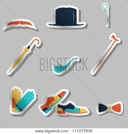 Gentleman Icon Set