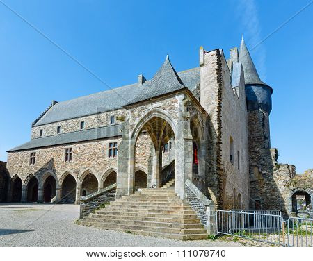The Town Hall Of Vitre, France.