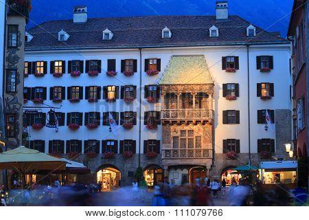 Goldenes Dachl, Innsbruck, Austria