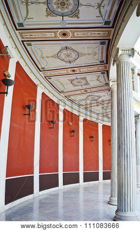 ATHENS GREECE, DECEMBER 2015: inside of the Zappeion Megaron Hall, Editorial