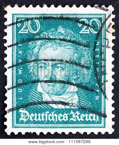 Postage Stamp Germany 1926 Ludwig Van Beethoven