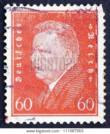 Postage Stamp Germany 1928 Friedrich Ebert