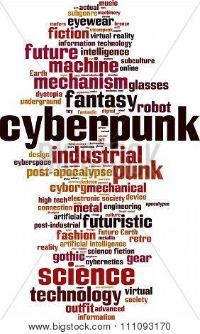 Cyberpunk Word Cloud