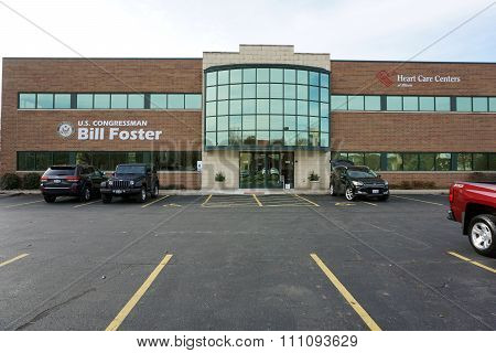 Congressman Bill Foster's Office & Heart Care Centers of Illinois