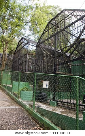 Old Zoo Cages Emperor Valley Zoo Trinidad Port Of Spain