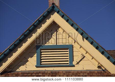 Gable Roof On Carlsbad Village Info Center