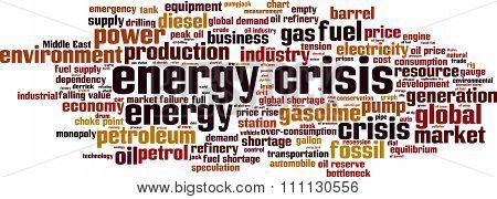 Energy Crisis Word Cloud