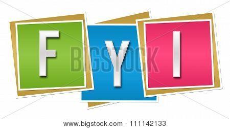 FYI Colorful Blocks