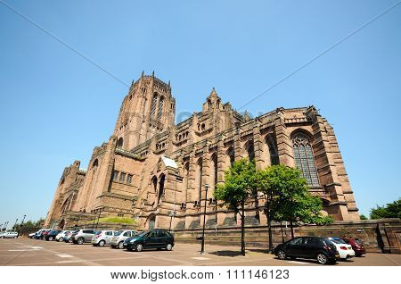 Liverpool Anglican Cathedral.