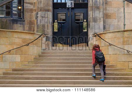 Glasgow School Of Art Door