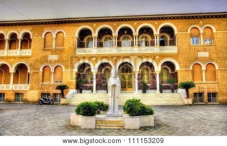Archbishop's Palace In Nicosia - Southern Cyprus