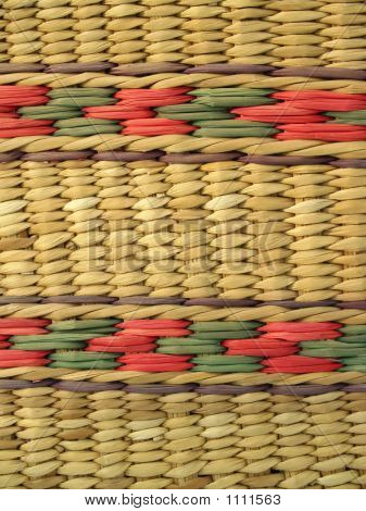 Ecuadorian Basket-Weave Background