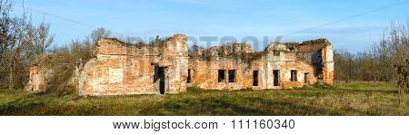 The Ruins Of Bernardine Convent In Brest Fortress, Belarus