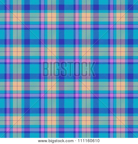 Colorful Seamless Tartan Pattern