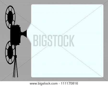 Movie Cine Projector Background