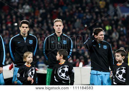 Bayer 04 Leverkusen Vs Barcelona Champions League