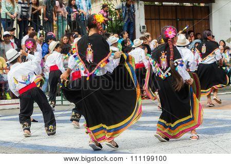 Unidentified Indigenous Kids Celebrating