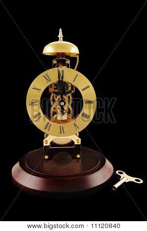 Windup Clock And Key