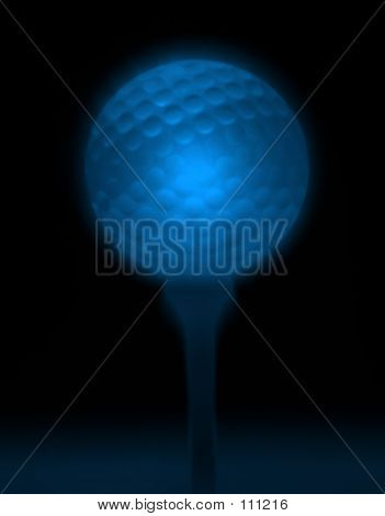 Abstract Golfball