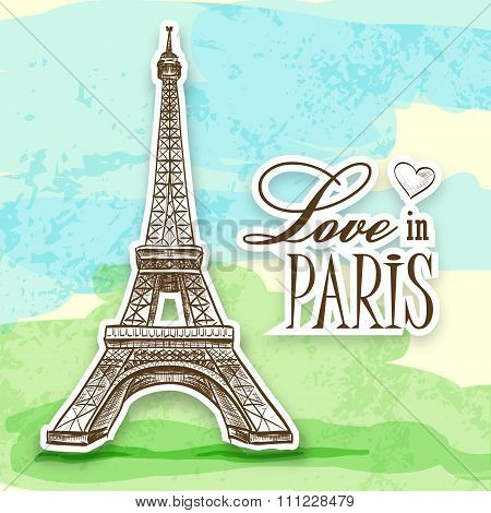 love in Paris Efel