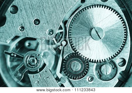 Gears old mechanical watches.