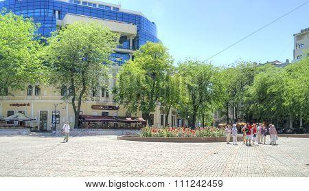 Odessa. Greek Area