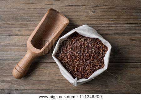 Red Ermes Rice With Bailer