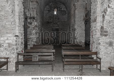 Monastery in Catalan Romanesque style