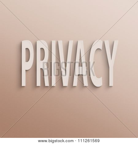 text on the wall or paper, privacy