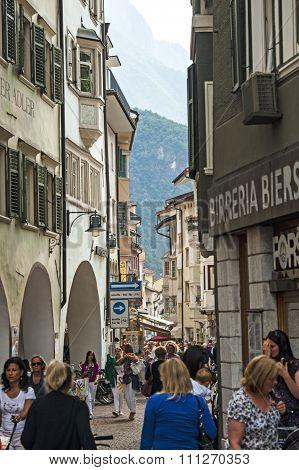 In Bolzano