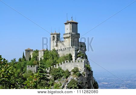 Second Tower Of The Fortress Of San Marino