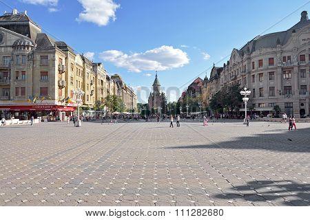 Victory Square Or Opera Square Timisoara