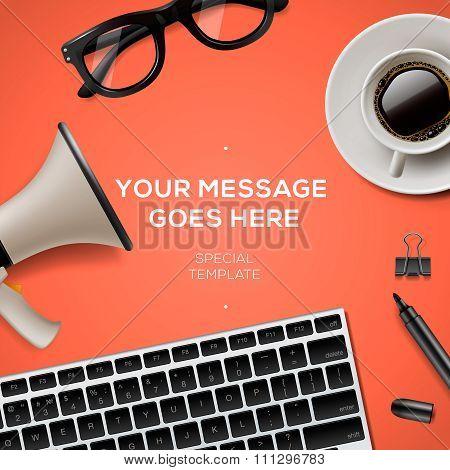 Blog management concept