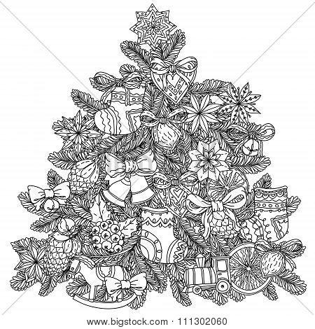 Christmas treeChristmas tree ornament
