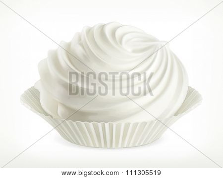 Meringue, vector icon