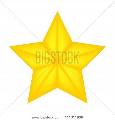 Christmas Star Of Bethlehem Vector Symbol, Icon  Design. Illustration Isolated On White Background.