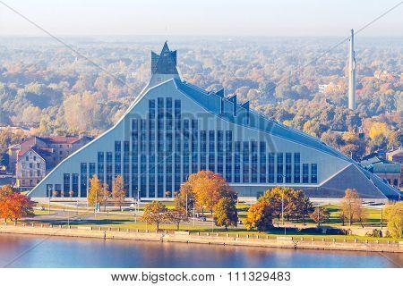 Riga. National Library.