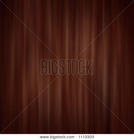 Dark Brown Curtain