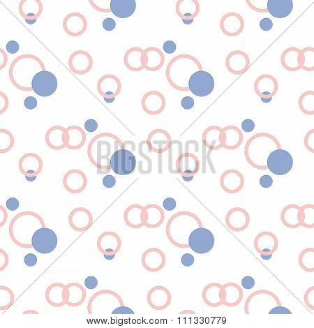 Geometric seamless pattern in pantone color of the year 2016. Abstract simple design.