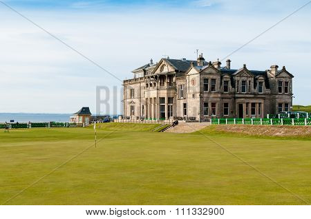 St Andrews Old Couse Clubhouse