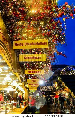 Christmas market in Bonn, Germany