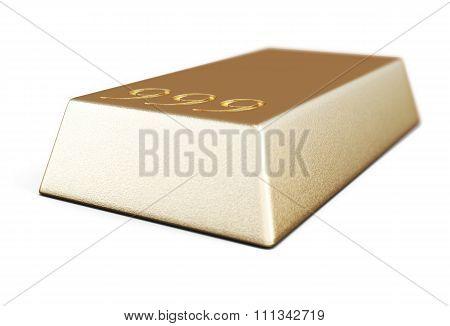 Gold Bullion Bars Close-up