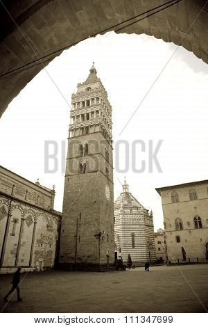 Cathedral Square, Pistoia, Italy