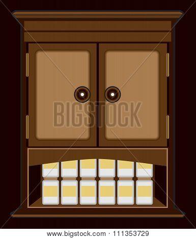 Spooky Medicine Cabinet