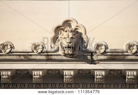 Lion Basrelief